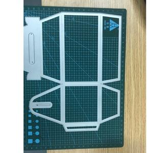 Image 3 - 3D גדול אחסון תיבת 21*25cm מתכת חיתוך מת סטנסיל עבור רעיונות אלבום תמונות נייר אמנות כרטיסים בעבודת יד חדש למות