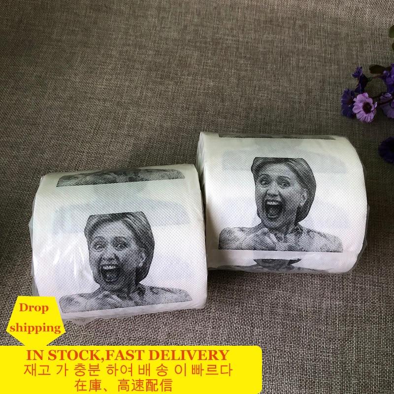 3Roll Pout Smile Roll Toilet Paper Bathroom Prank Joke Fun Paper Tissue Rolling Paper Gift Toilet Tissue Toilet Paper Rolls Pack