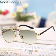 2020 moda Retro güneş gözlüğü erkekler lüks marka klasik Oval güneş gözlüğü Shades Gafas De Sol El Hombre