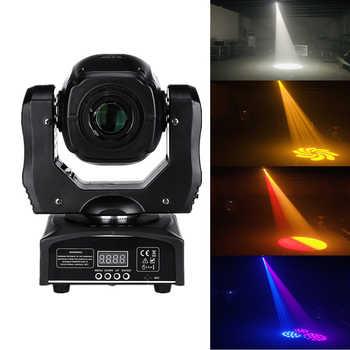 75w conduziu a luz principal movente do ponto 60w conduziu a luz do feixe do dj conduziu a luz do ponto com gobo & cor roda disco djs equipmentnt