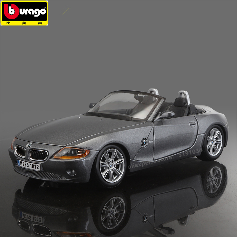 Bburago 1 24 BMW Z4 alloy car model simulation car decoration collection gift toy in Diecasts Toy Vehicles from Toys Hobbies