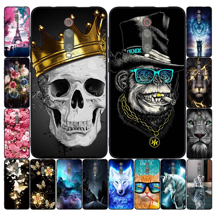 Case For Xiaomi Redmi K20 Mi 9T Case Soft Silicone Phone Back Cover Case For Xiaomi Redmi K20 Pro Mi 9T PRO Coque Fundas Cases