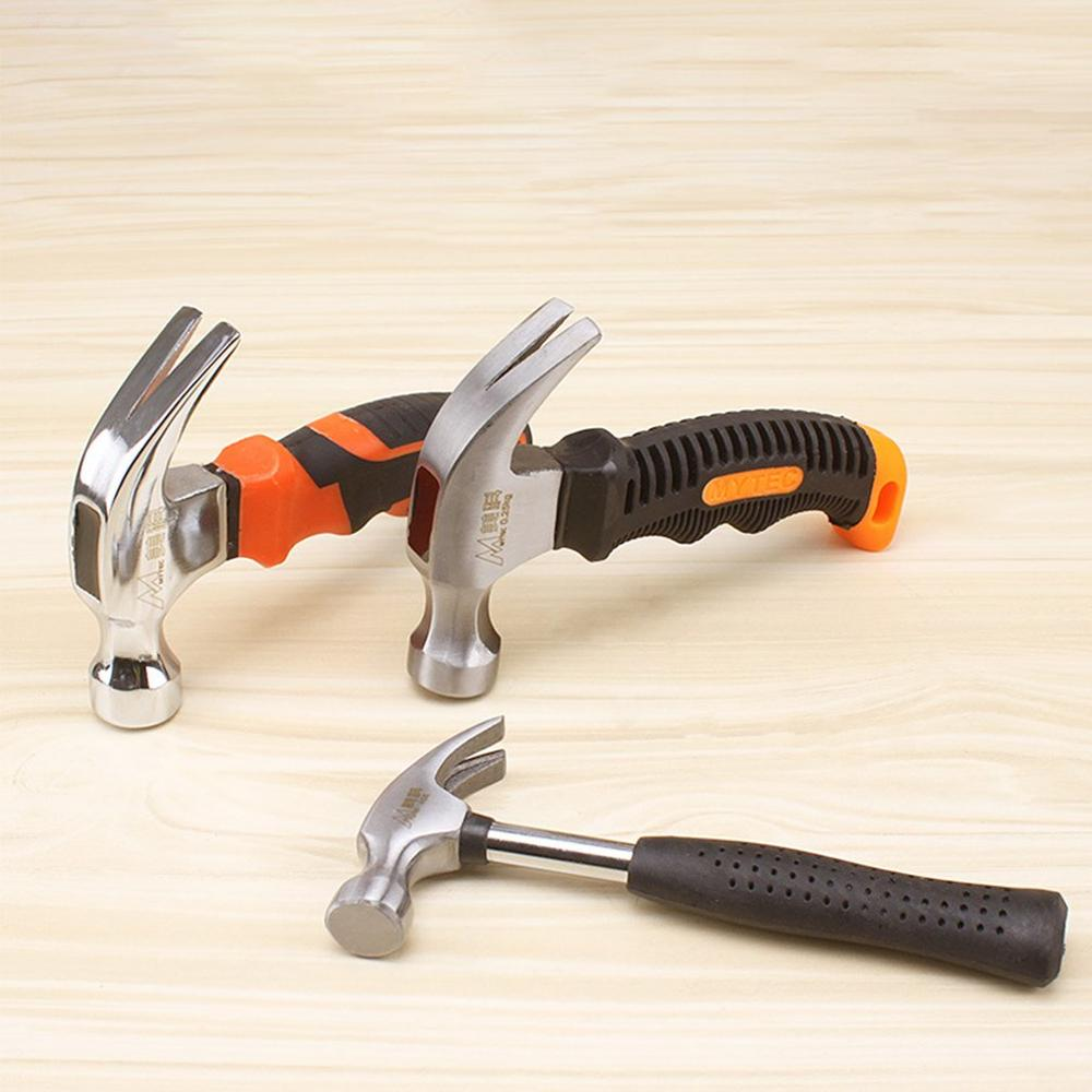 Claw Hammer Portable Compact Portable Tool Solid One Iron Hammer Head Household Hammer
