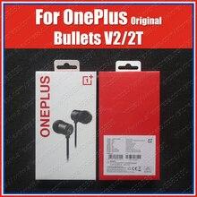 BE02T nowy 2020 oryginalny OnePlus Bullets 2T type c słuchawki zestawy słuchawkowe z mikrofonem dla Oneplus 8T 8 Pro 7T Pro 7 Pro 6T 6 5T