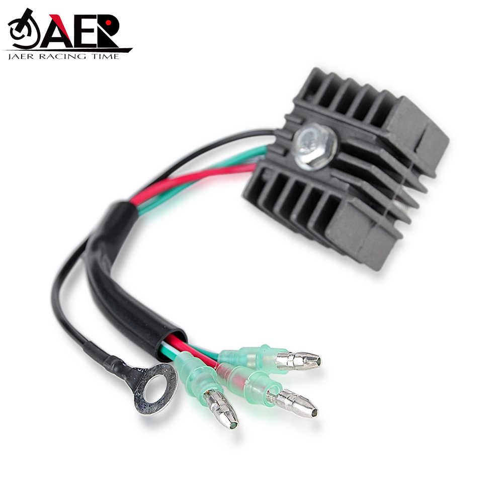 Регулятор напряжения JAER для подвесных моторов Yamaha 15 20 25 9,9 EL ELH ES ESH L MLH MSH S 664-81970-60 664-81970-62