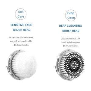 Image 5 - Sonic akumulatorowa szczotka do czyszczenia twarzy elektryczne urządzenia do czyszczenia twarzy Ultra sonic Mini 2 Mini2 Cleanser nie silikonowe