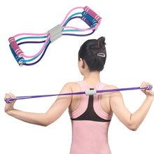 Аксессуары для йоги эластичный растягивающийся пояс 8 форм