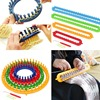 DIY Knitting Knitting Machine Plastic Round Square Hat Knitting Tool Hat Scarf Knitting Machine Knitting Crochet Sewing Tool