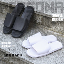 Home Cool Korean-style Sandals Women's Household Soft-Sole Bathroom Anti-slip Men's Indoor Household Couples(China)