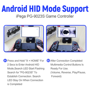 Image 3 - iPega PG 9023S Extendable Wireless Game Controller Gamepad for Bluetooth for PC for Android 6.0 or above