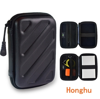Headphone bag electronic data cable power storage box convenient and pressure-resistant mobile hard disk bag 140x95mm