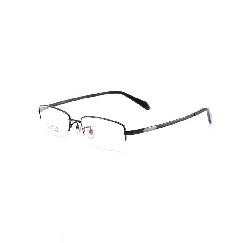W-140 Pure Titanium Prescription Eyewear Frame Men Eye Glasses Frame Optical Myopia Reading Glasses High-quality Frame for man