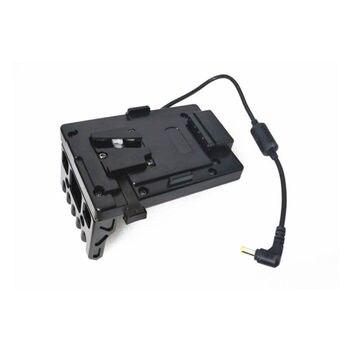 Hontoo v-lock V mount fuente de alimentación de la placa de la batería para SONY FS7 FS7II Cámara rig