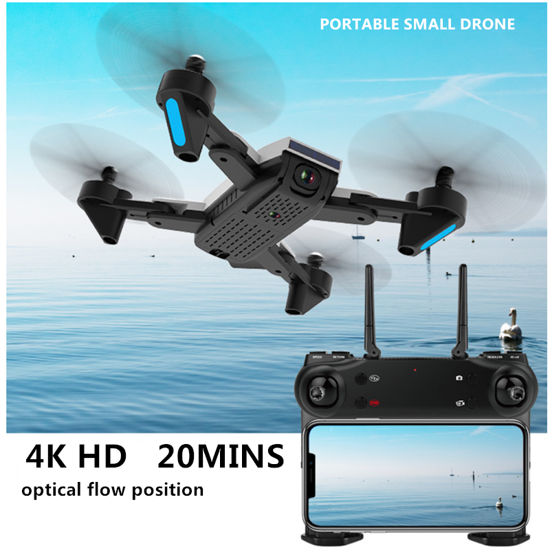 RC drone mini 4K HD Quadcopter Small Aircraft 20mins Endurance Optical Flow Position Aerial Photography RC Plane with camera