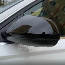 Coperchi copri specchietti retrovisori neri per Audi A6 C7 C7.5 S6 4G 2012 2013 2014 2015 2016 2017 2018 coppia custodia posteriore
