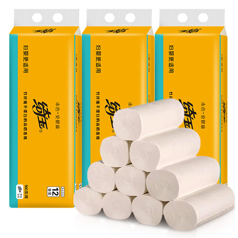 12 Roll Toilet Paper Toilet Roll Tissue Pack Paper Towels Tissue Enviro Friendly Recycled Tissue Toilet Paper Rolling Dolar