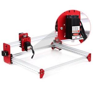 Image 2 - A3 Laser Machine DIY Desktop Mini Laser Graveermachine LiteFire A3 Software 500 mw/2500 mw/5500 mw 3040 Metalen Frame Cnc Router