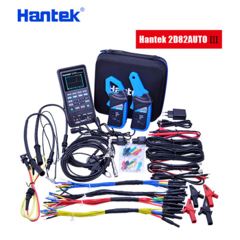 Hantek Oscilloscope automotive+multimeter +Waveform Generator 3 in 1 oscilloscope handheld USB 2 Channels 40mhz 70mhz tools new hantek 1008a digital pc usb oscilloscope generator vehicle 8channels testing 2 4msa s 2 0 interface automotive programmable