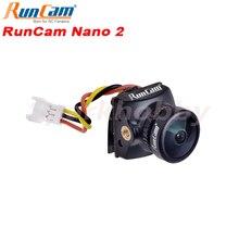 """RunCam نانو 2 FPV كاميرا 1/3 """"700TVL CMOS عدسة 2.1 مللي متر عدسة 155/170 درجة FOV FPV كاميرا ل FPV RC الطائرة بدون طيار إكسسوارات قطع غيار"""