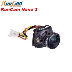 "Image 1 - RunCam Nano 2 FPV 카메라 1/3 ""700TVL CMOS 렌즈 2.1mm 렌즈 FPV RC Drone 예비 부품 액세서리 용 155/170 ° FOV FPV 카메라"