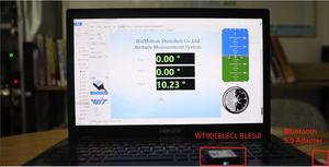 Image 4 - WitMotion Sensor de ángulo de 9 ejes para ordenador y Android, dispositivo de bajo consumo con Bluetooth BLE 5,0, 50m, WT901BLECL, giroscopio de aceleración y magnetómetro