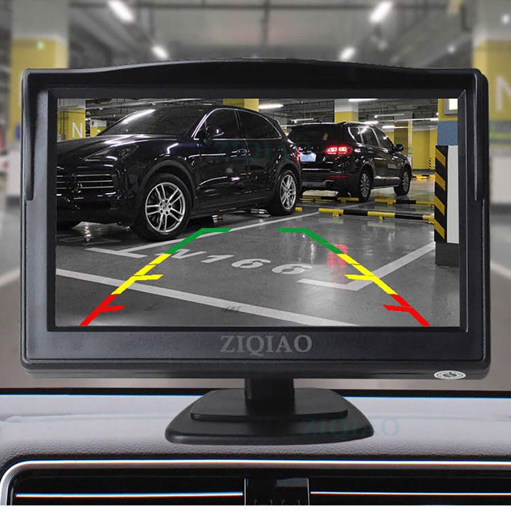 ZIQIAO 5-Zoll TFT LCD Auto Monitor 2-weg DVD VCD Video Digital Signal Eingang Rückansicht Umkehr monitor