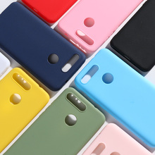 Para Honor View 20 funda de silicona suave de colores dulces TPU para Fundas Huawei Honor V20 funda 6,4