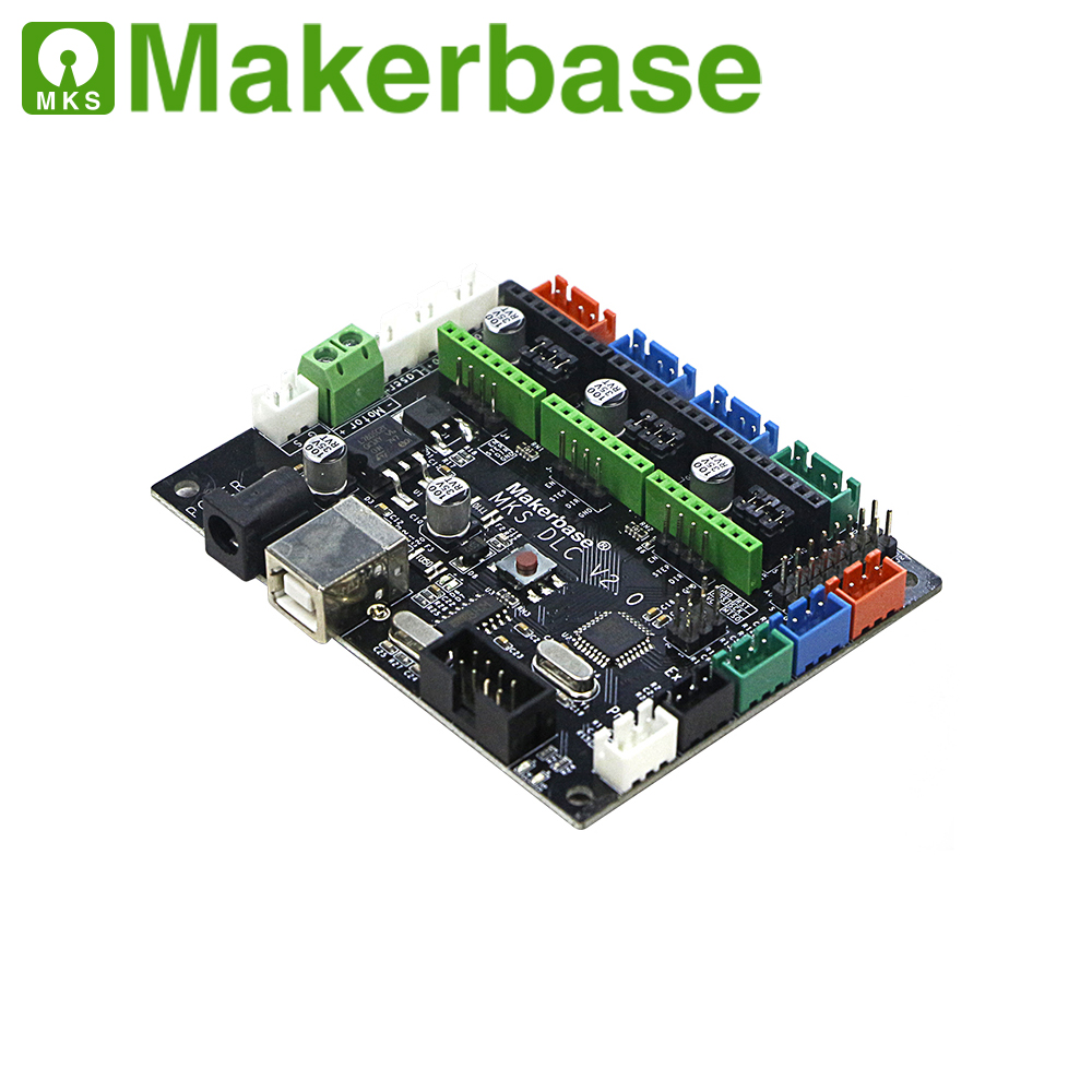 MKS DLC Card GRBL CNC Motherboard TTL GRBL Control Plate 3 Axis Stepper Laser Driver Breakout Board For Writing Drawing Machine