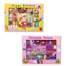 Kawaii Kitchen Rubber Erasers  Fairytale Palace School Office Correction Pencil Erasers For Kids Korean Students Stationery