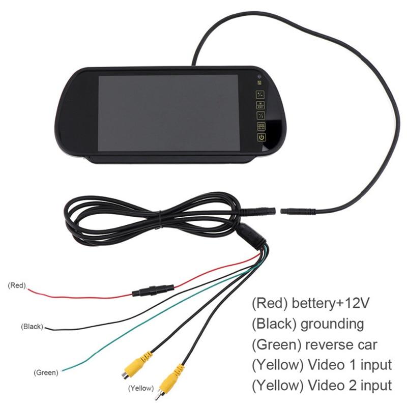 7 hüvelykes TFT LCD szélesképernyős érintőgomb támogatása DVD - Autóalkatrész - Fénykép 5