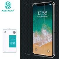 Para iphone 11 pro nillkin incrível h anti-explosão protetor de tela de vidro temperado para iphone 11 pro max 5.8/6.1/6.5 polegada de vidro