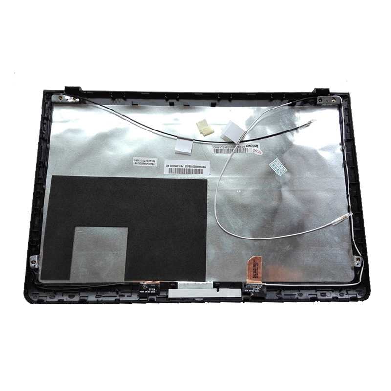 Laptop LCD Top Cover For <font><b>LENOVO</b></font> <font><b>S205</b></font> S205S Series 11S604JI120022000CE04V LCD BACK COVER black/ pink image