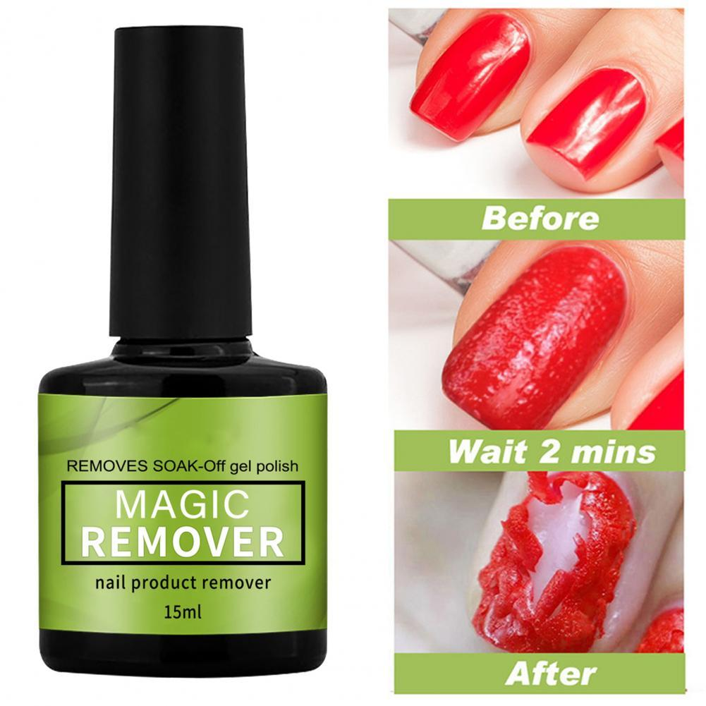 15 мл гели для ногтей гель для снятия легко Применение наконечник для уборки из искусственных волос ногтей Magic лак клей для Для женщин