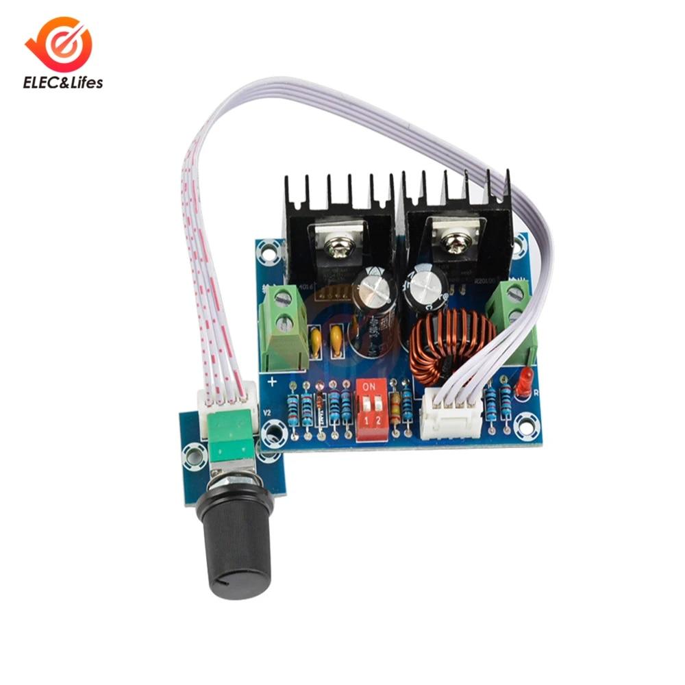 High-power adjustable Buck-Boost power supply module with display housing L2KE