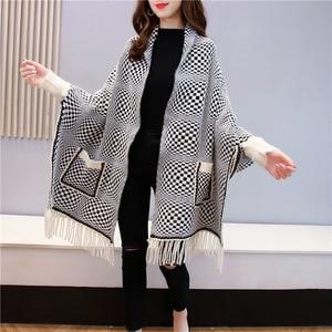 2020 Women Plaid Scarf Hijab Fashion Luxury Brand Foulard Soft Ethnic Style Shawls and Wraps Headscarf