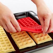 Мини-вафли, сковорода для выпечки торта, запеченные кексы, форма для шоколада, поднос, сделай сам, пищевой силикон, кухонные аксессуары, форма для вафель L* 5