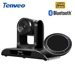 Tenveo HD 1080P stała gęstość wiązki kamera 8MP 138 stopni szeroki kąt z Bluetooth USB konferencja zestaw głośnomówiący dla VoIP Softphones|Systemy konferencyjner|   -