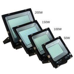 30W50W100W200w Led reflektor zewnętrzny IP65 wodoodporny 220v led reflektor reflektor oświetlenie ogrodowe Led zewnętrzne reflektory led