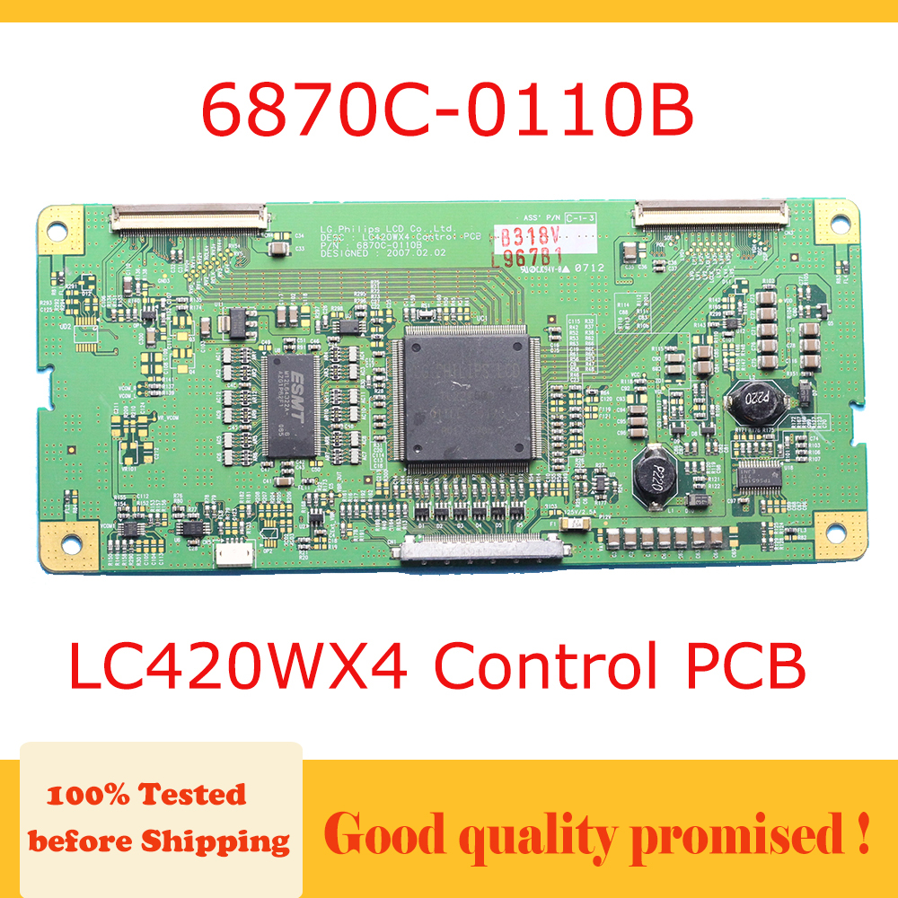 6870C 0110B T CON Board LC420WX4 Control PCB Smart TV Main Board 6870c0110b lc420wx4 T CON Board 6870c Logic Board TV Equipment|Circuits| |  - title=
