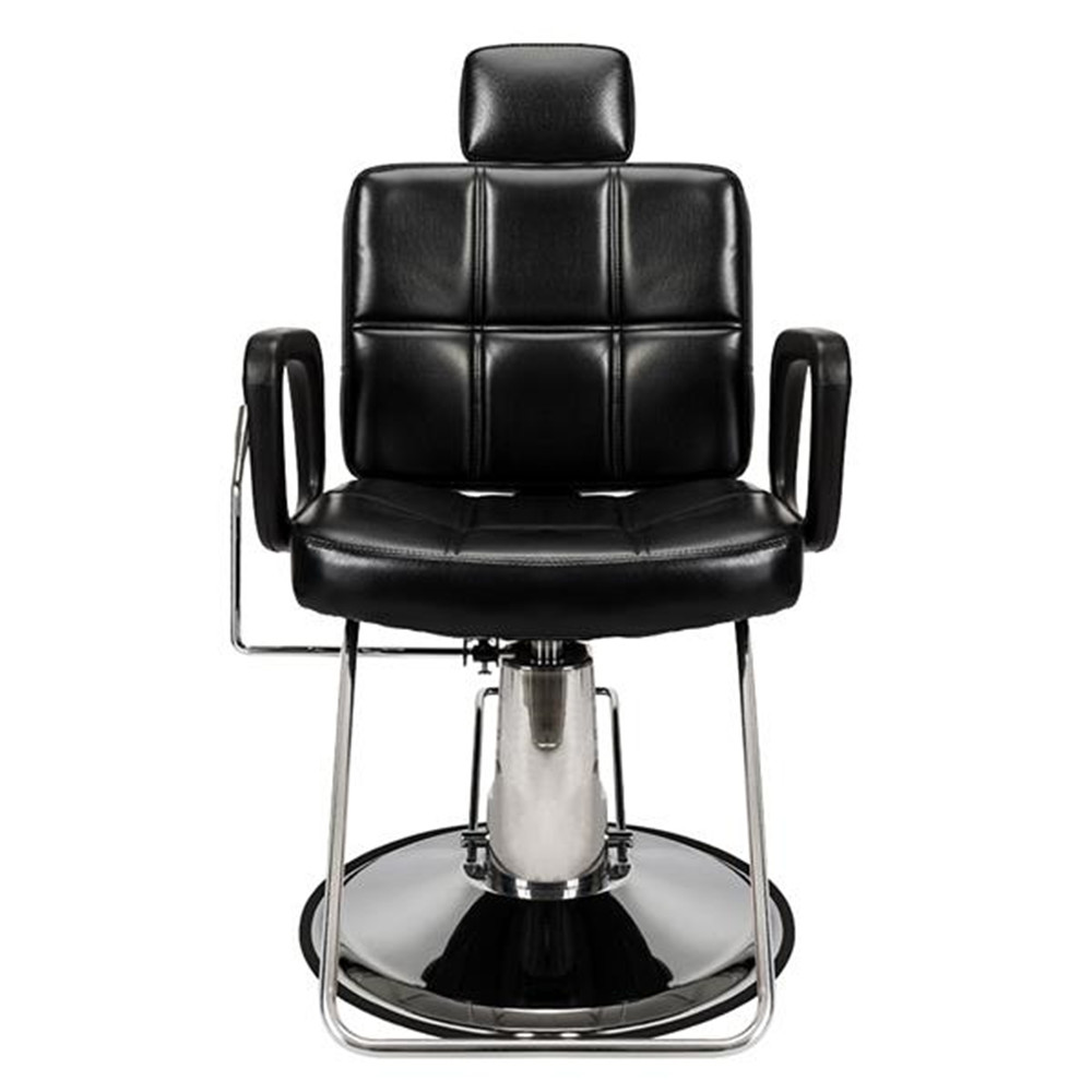 High Quality PVC Leather Barber Chair Salon Beauty Spa Chair Styling Equipment Black
