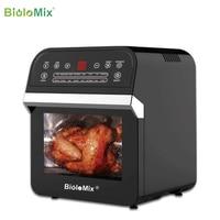 BioloMix 12L 1600W Air friteuse four grille-pain rôtissoire et déshydrateur avec LED écran tactile numérique, 16-en-1 four à poser 1