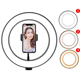 6-10 Inch Ring Light Led Selfie Photography Youtube Live Dimmable Selfie Ring Lamp With Tripod Stand Ring Light With Stand 8inch