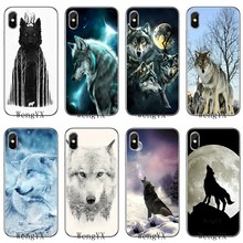 design Wolf on Snow Luxury soft phone case For Xiaomi Mi 9 9t CC9 CC9e 8 SE pro lite Redmi note 8 7 7A pro k20 2 3(China)