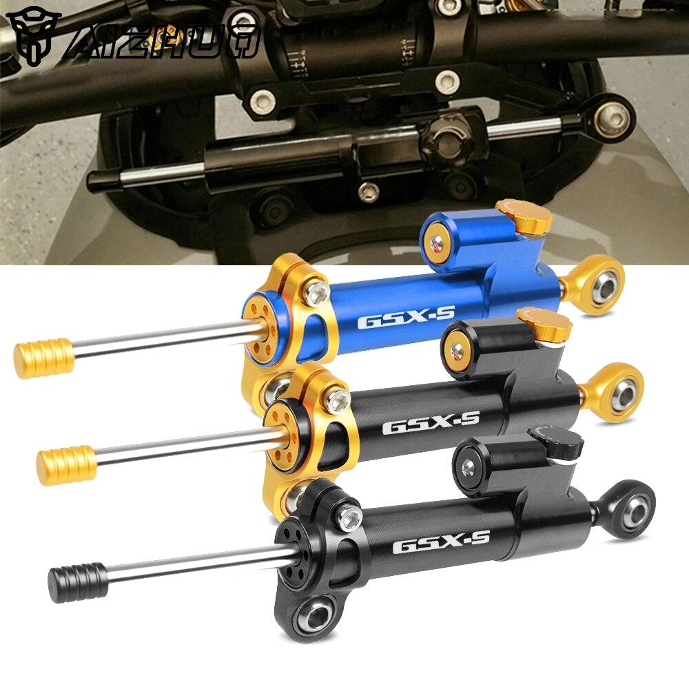 Universal Motorcycle Steering Stabilizer Damper Safety Control For SUZUKI GSR750/GSX-S750 GSXS750 1000 GSXS1000 2019 2018 2017