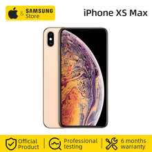 Unlocked Original Apple iPhone XS Max 512GB 6.5-inch Smartphone With Dual Card and Full Screen (Used 99% New)