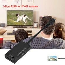 Convertitore adattatore da Micro USB 2.0 a HDMI per Samsung HTC LG adattatore Multi Monitor per scheda Video esterna per telefono cellulare Android