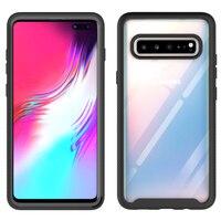 Caso de teléfono para Samsung Galaxy Nota 10 S9 S10 5G S10E Plus Lite 2020 A50 A50S A30S A20S A20 A30 A10 A70 A20E PC pesado cubierta de Marco