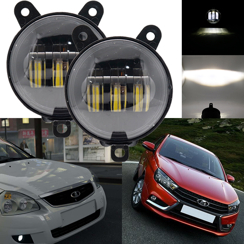 2 Pcs For Lada Niva 4X4 1995 LED Tail Lights With Running Turn Signal PMMA / ABS Plastic Function Accessories Car Styling Tuning