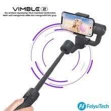 Feiyu estabilizador de cardán de mano para teléfono móvil iPhone, X, Gopro, sjcam, xiaomi, Huawei y Samsung, vimble 2S vimble2S
