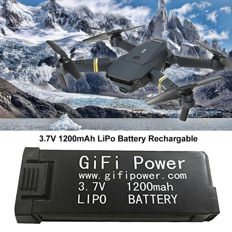 Power <font><b>Lipo</b></font> <font><b>Battery</b></font> E58 <font><b>1200mAh</b></font> <font><b>3.7V</b></font> <font><b>1200mAh</b></font> Replacement Electronic For JY019 S168 E58 M68 image